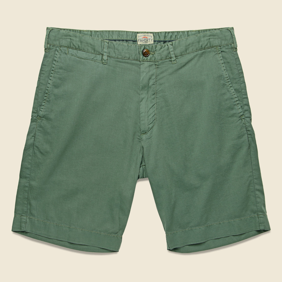 Faherty Bay Short - Summer Olive
