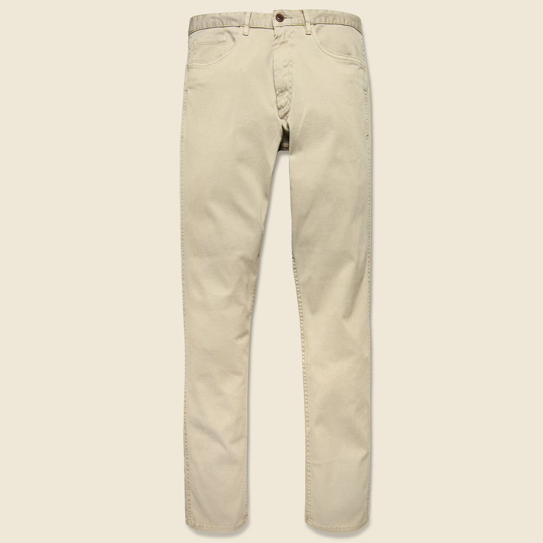 Faherty Cavalry Twill Jean - Light Khaki