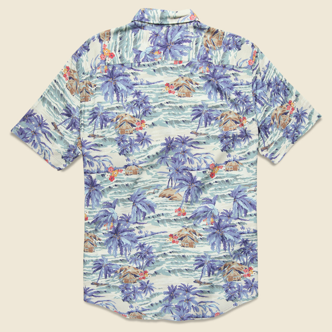 Tahitian Dreams Hawaiian Shirt - Multi
