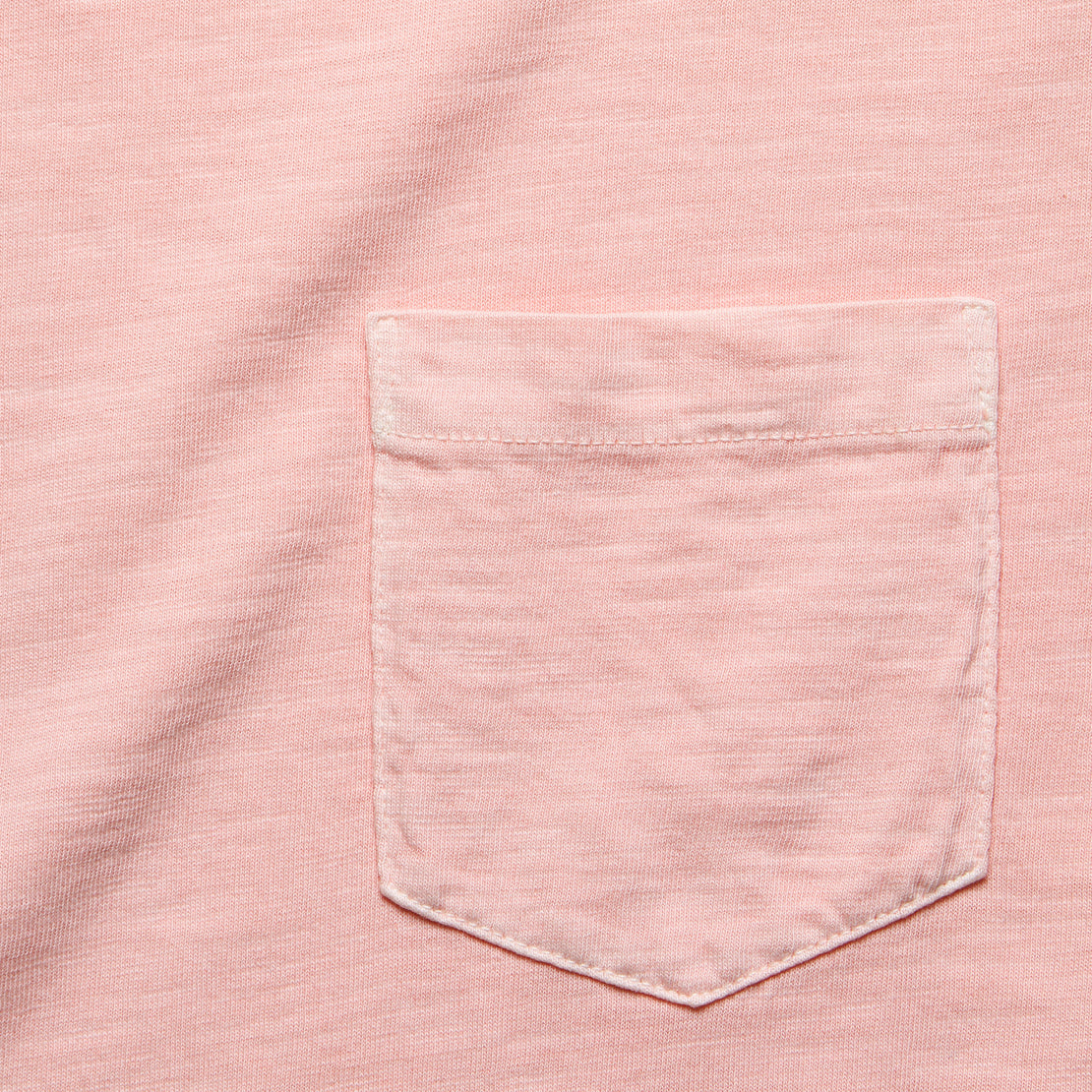 Garment Dye Pocket Tee - Summer Pink