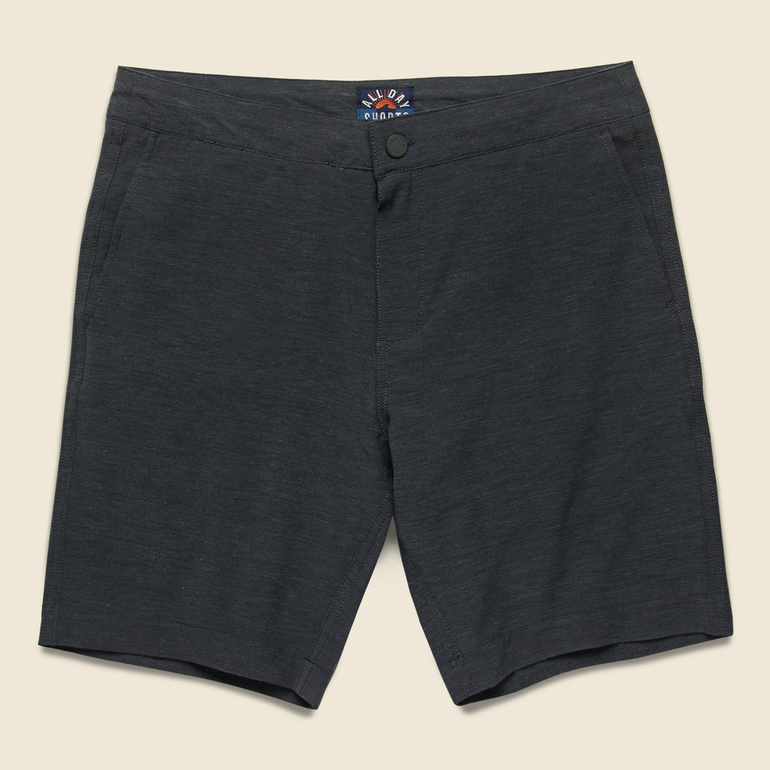 Faherty All Day Short - Charcoal