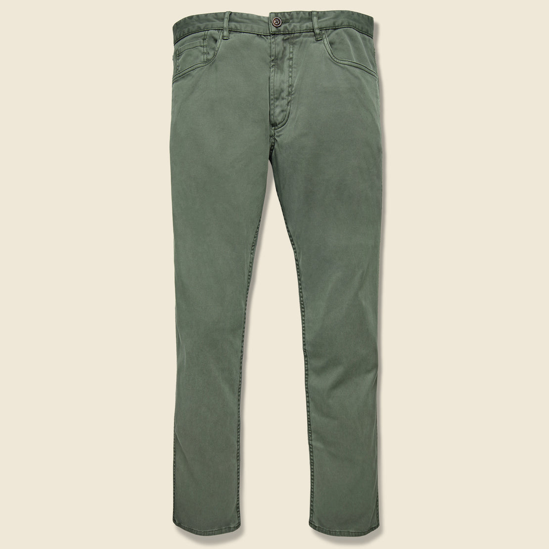 Faherty Comfort Twill Jean - Hunter Green