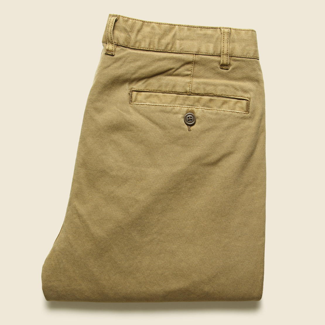 Comfort Canvas Trouser - Weir Brown