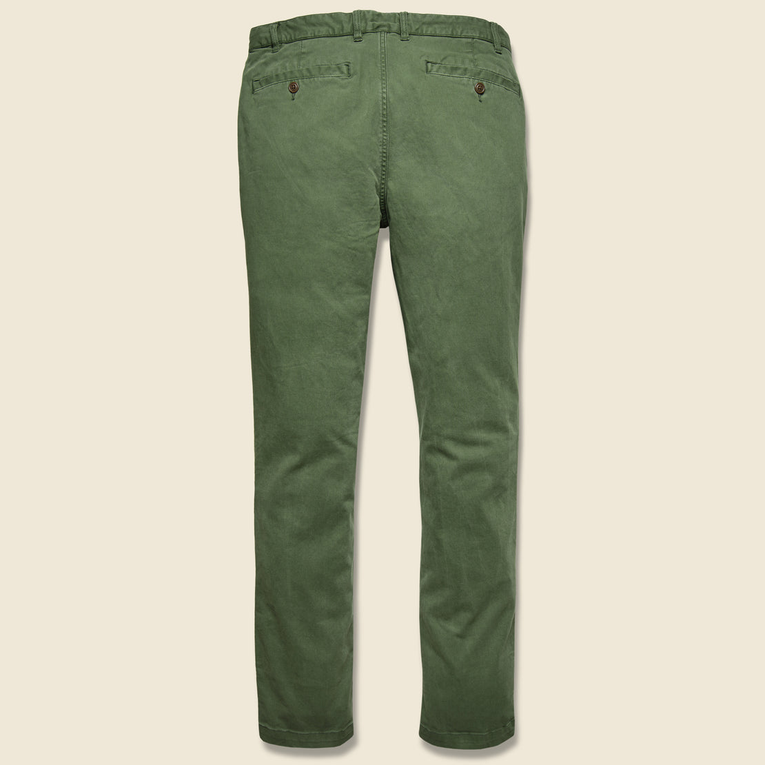 Stretch Canvas Trouser - Hunter Green