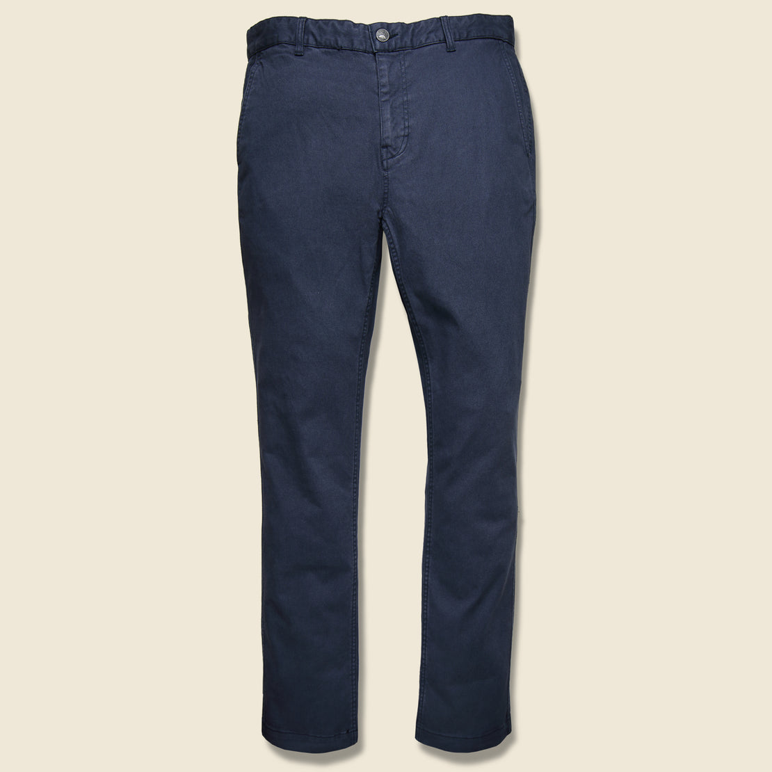 Faherty Stretch Canvas Trouser - Navy