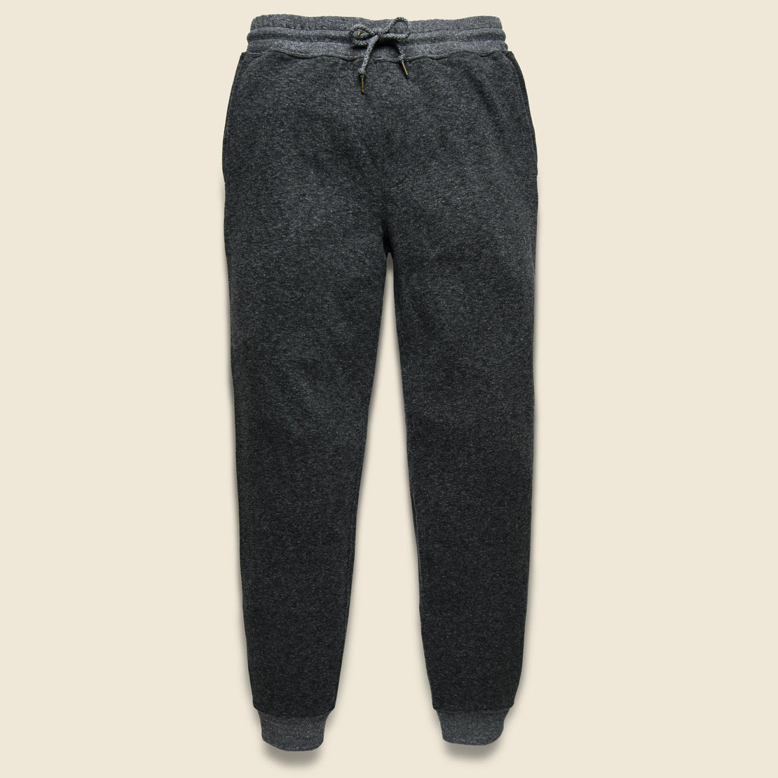 Faherty Dual Knit Sweatpant - Washed Black