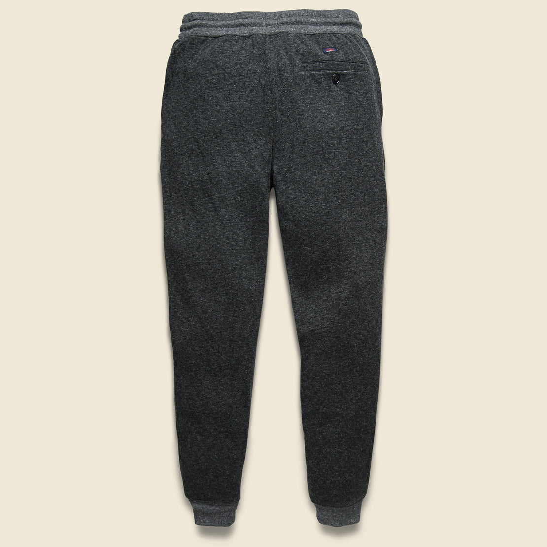 Dual Knit Sweatpant - Washed Black