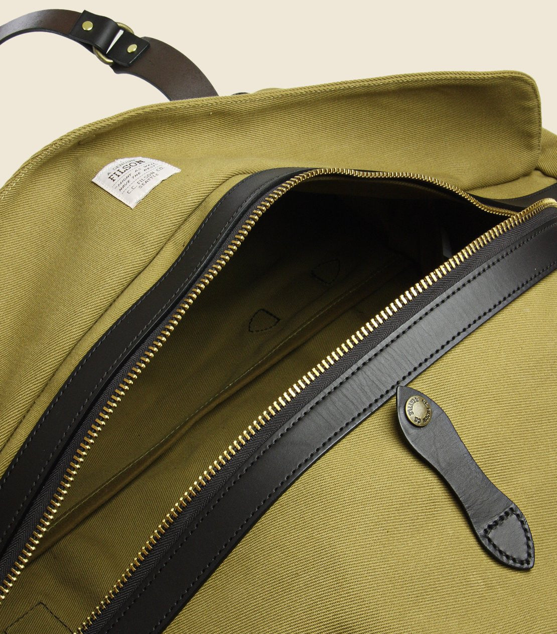 Large Duffle Bag - Tan - Filson - STAG Provisions - Accessories - Bags / Luggage