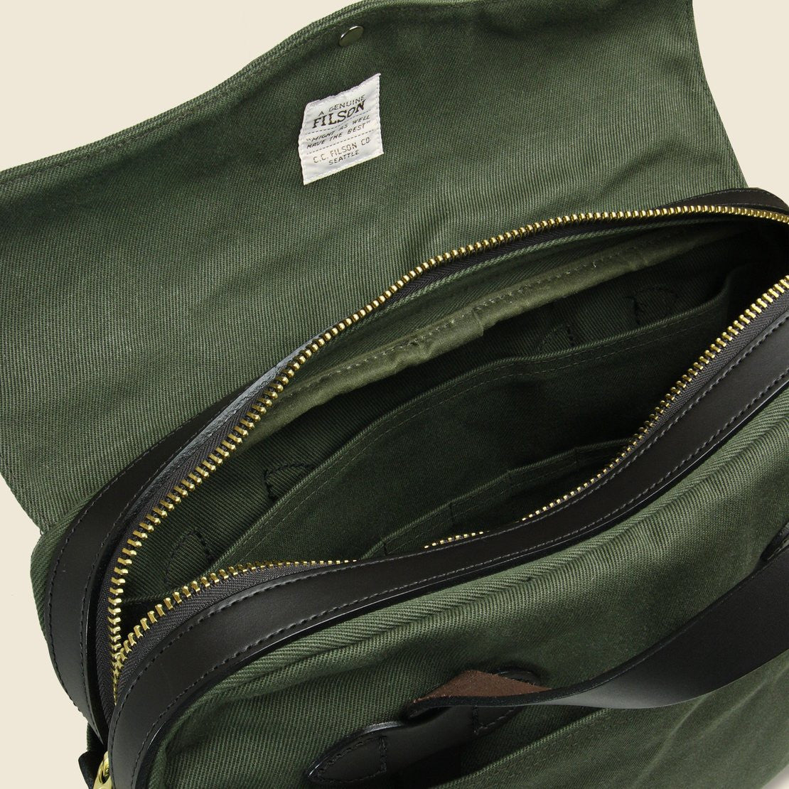 Original Briefcase - Otter Green - Filson - STAG Provisions - Accessories - Bags / Luggage