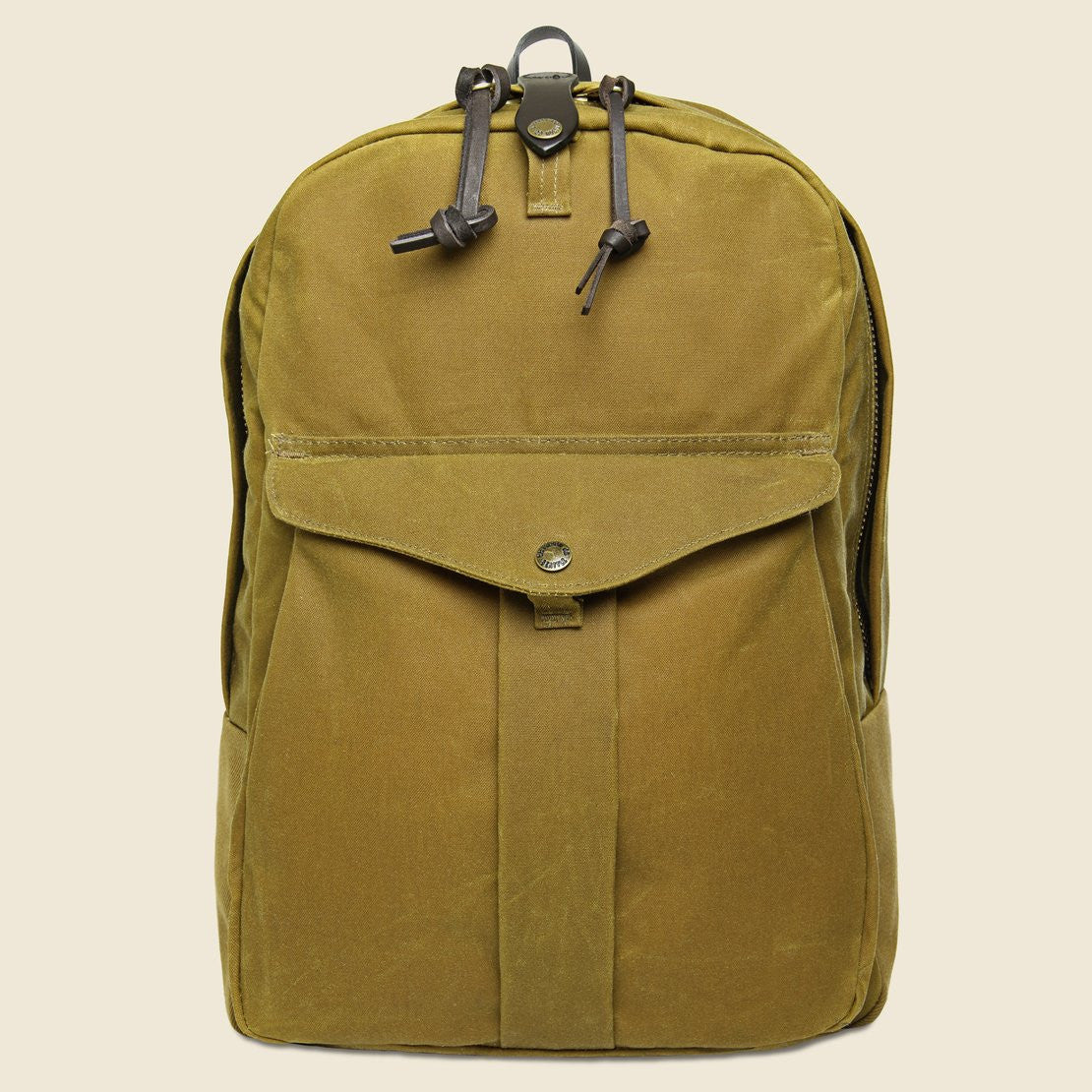 Filson Tin Cloth Journeyman Backpack - Tan