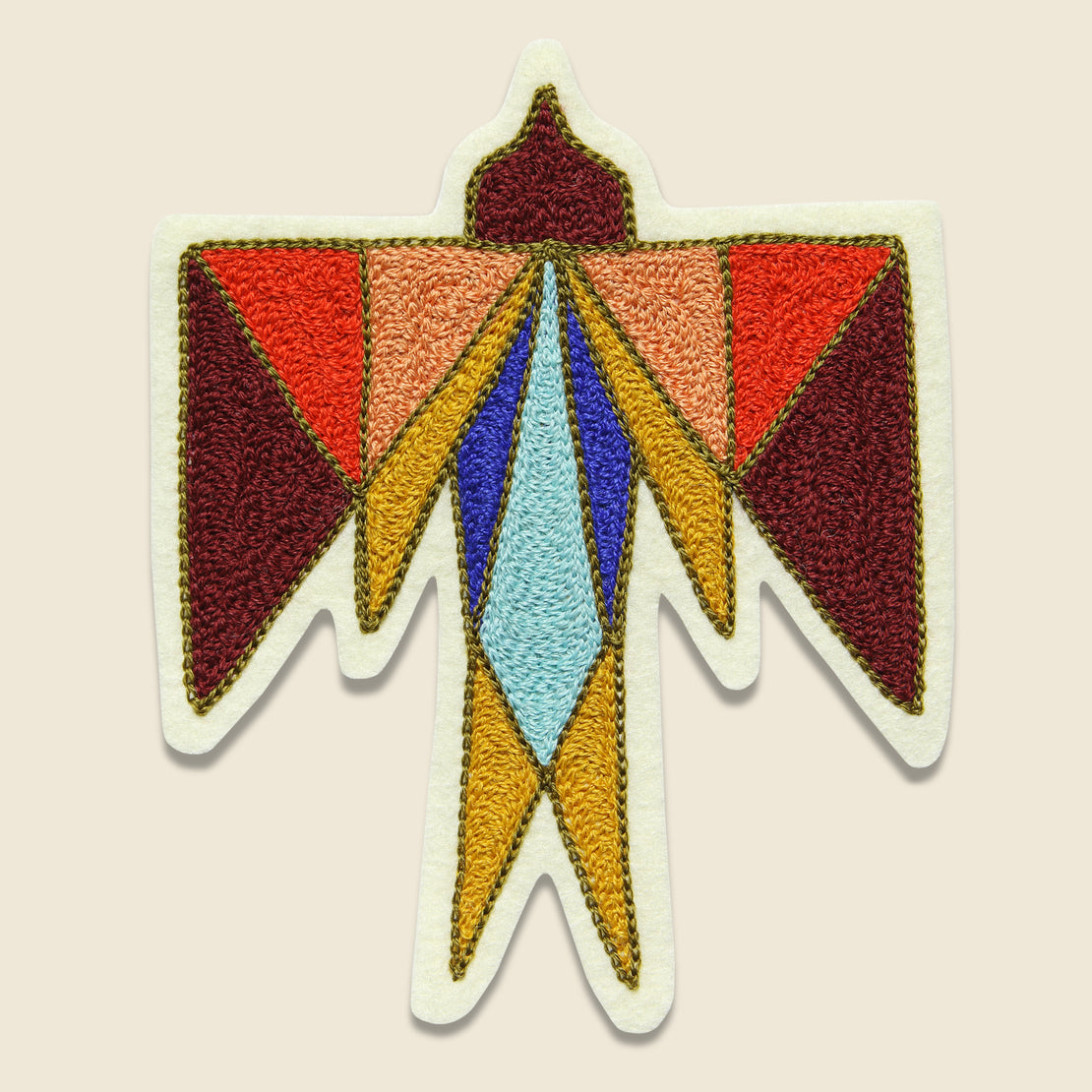 Fort Lonesome Patch - Geometric Thunderbird
