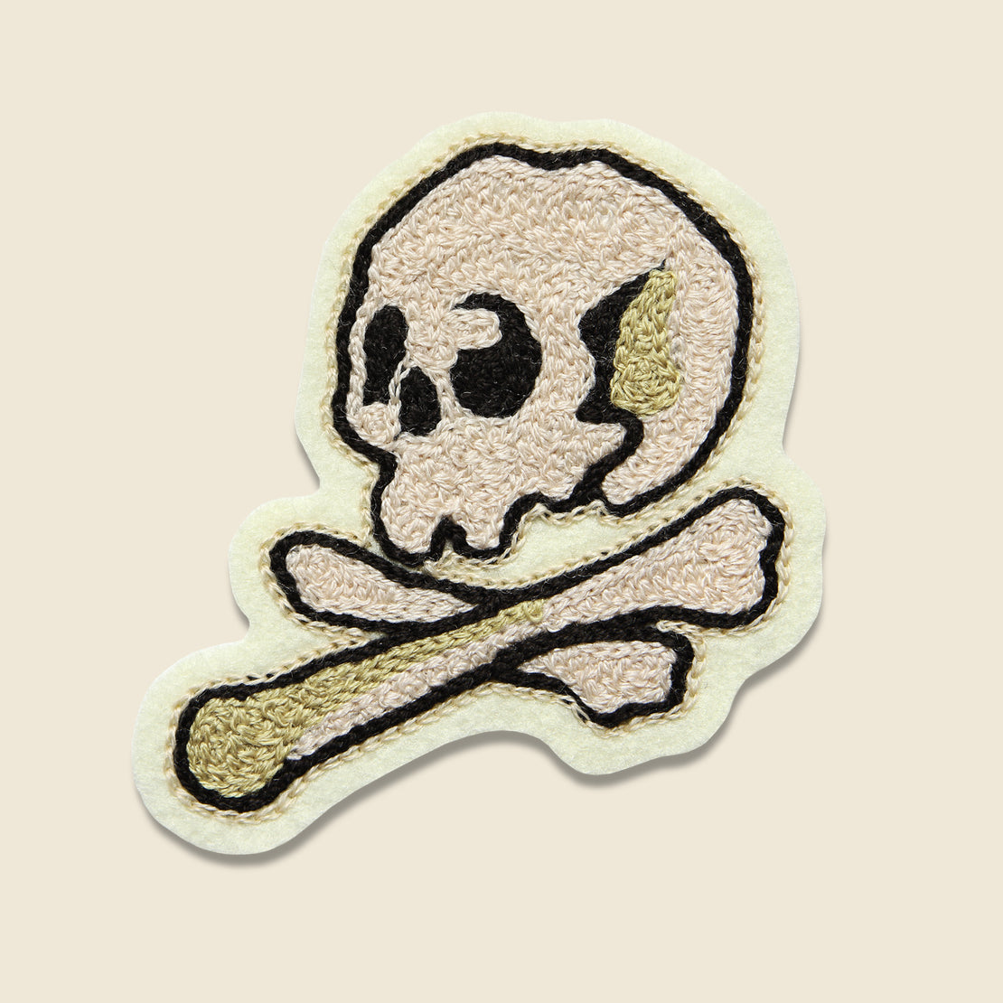 Fort Lonesome Patch - Skull