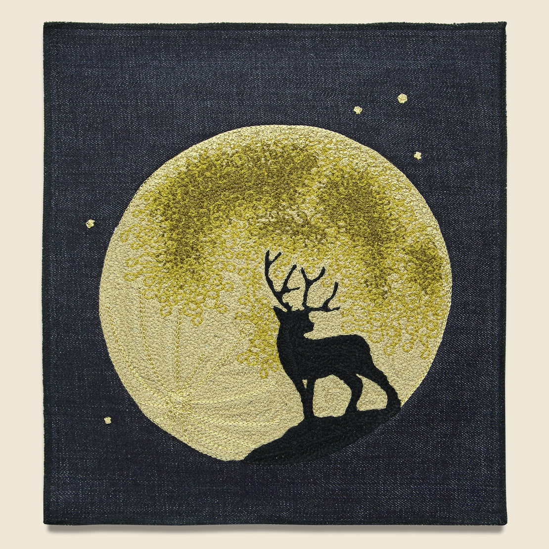 Fort Lonesome Large Direct Stitch Embroidery - Moon