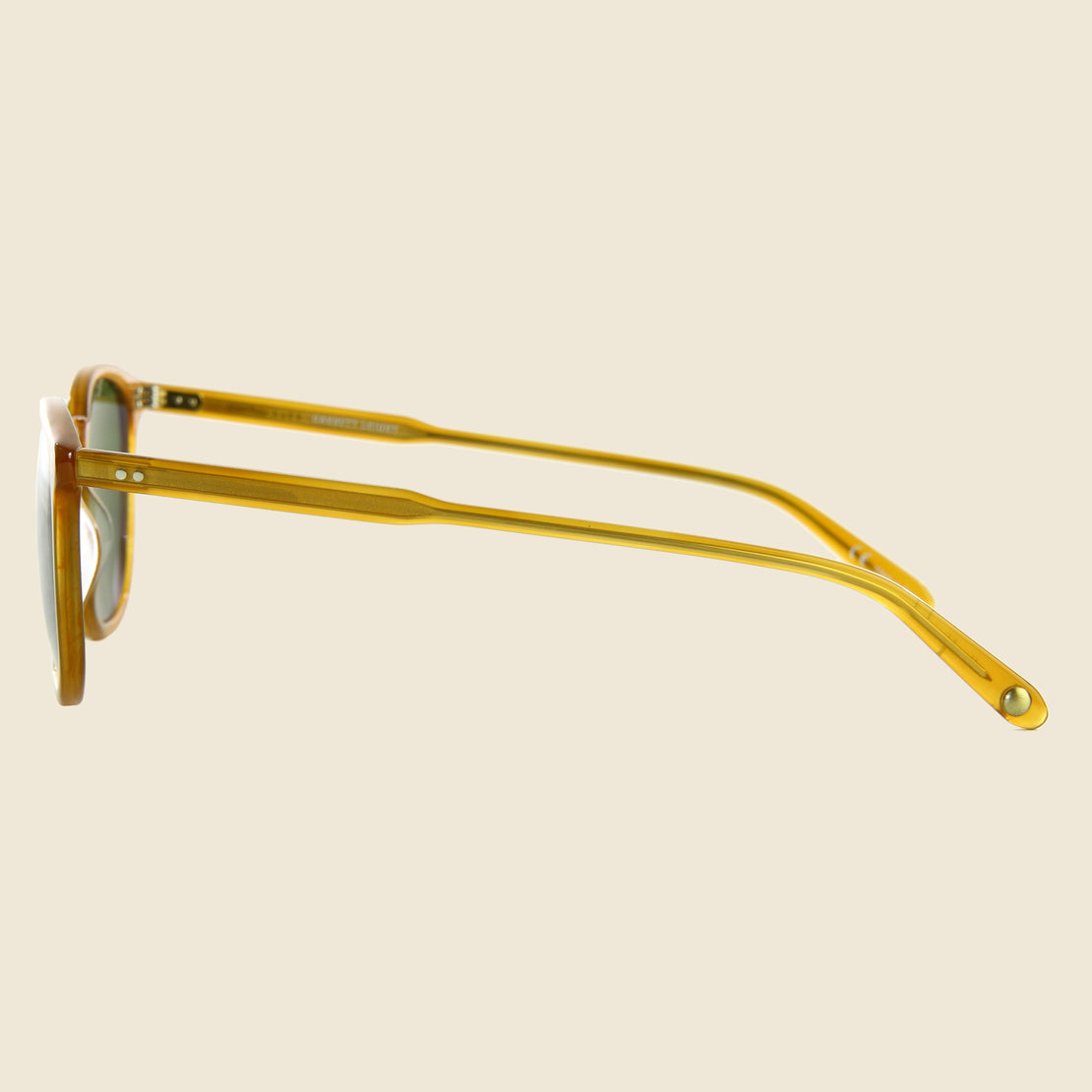 Kinney - Butterscotch - Garrett Leight - STAG Provisions - Accessories - Eyewear