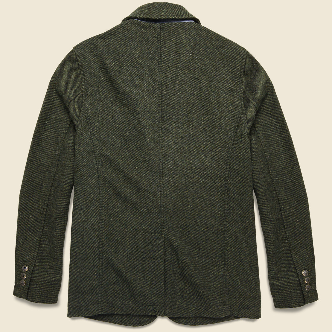 Hutton Wool Sport Coat - Loden