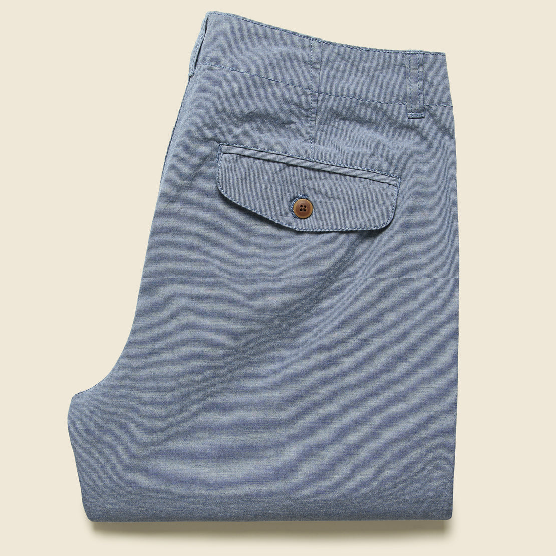 Randolph End On End Pants - Blue