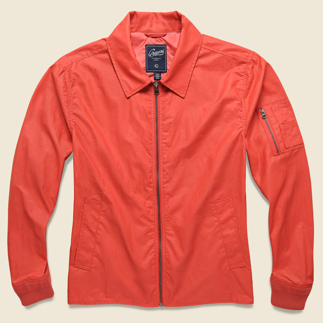 Grayers Geneva Windbreaker - Red