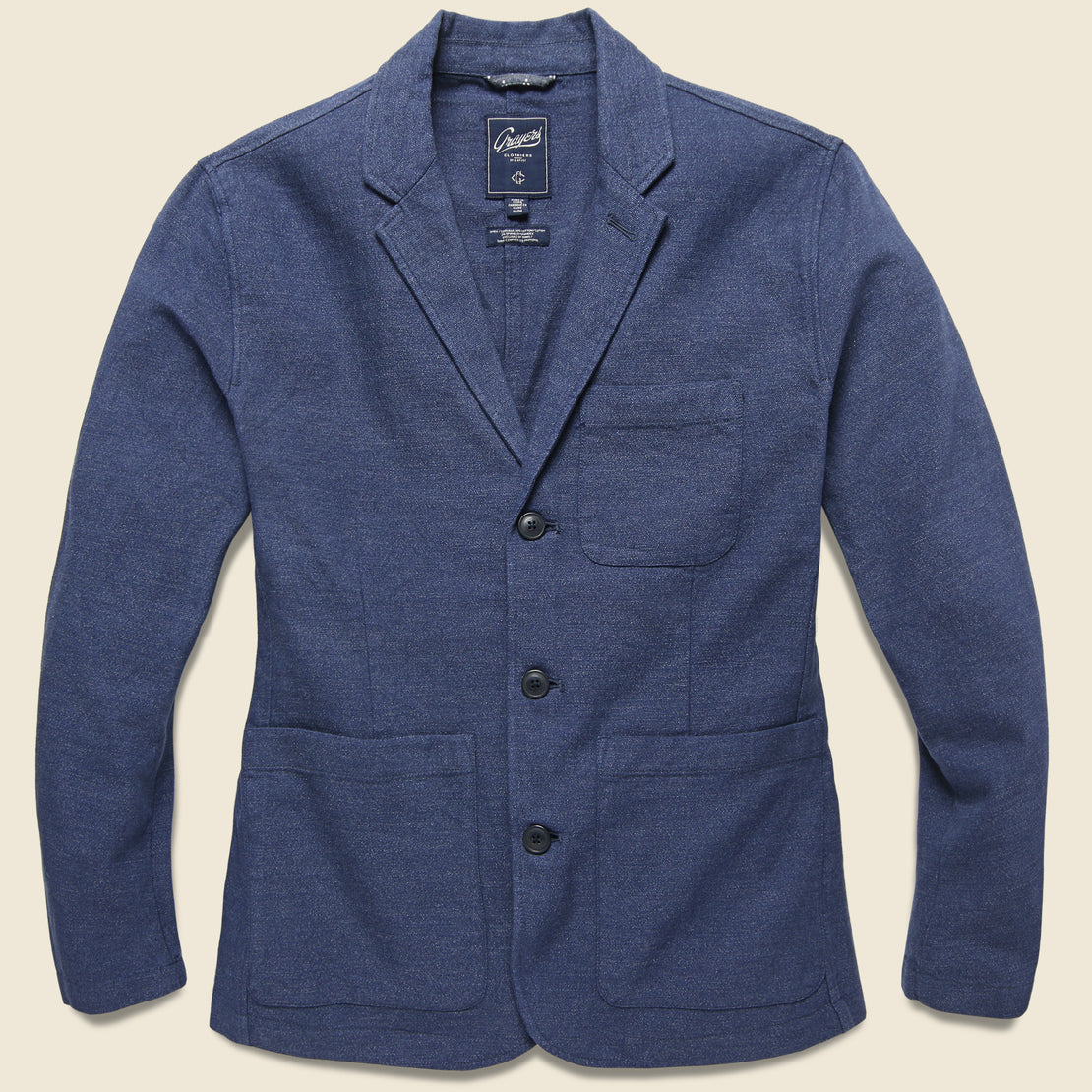 Grayers Poindexter Sportcoat - Navy Heather