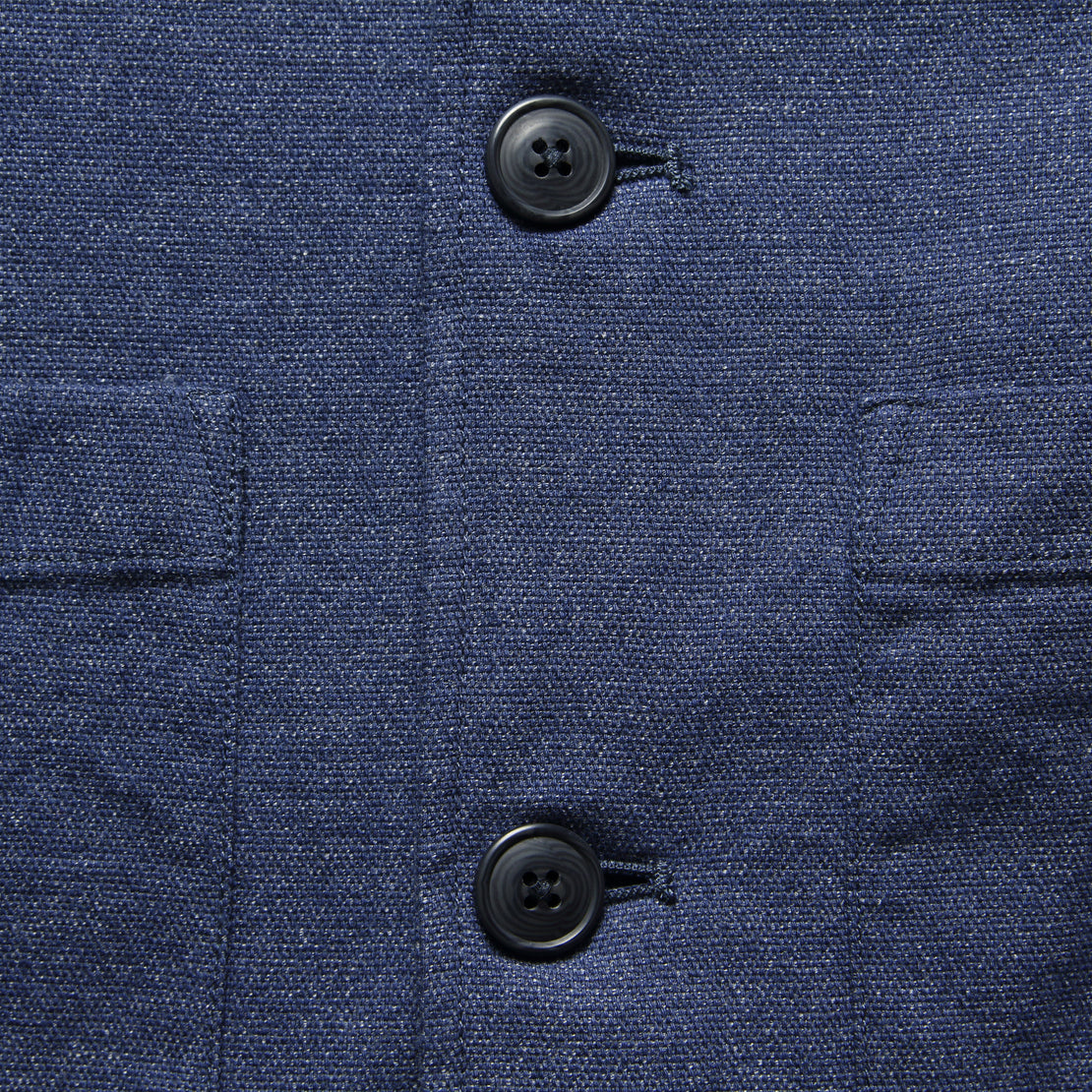 Poindexter Sportcoat - Navy Heather