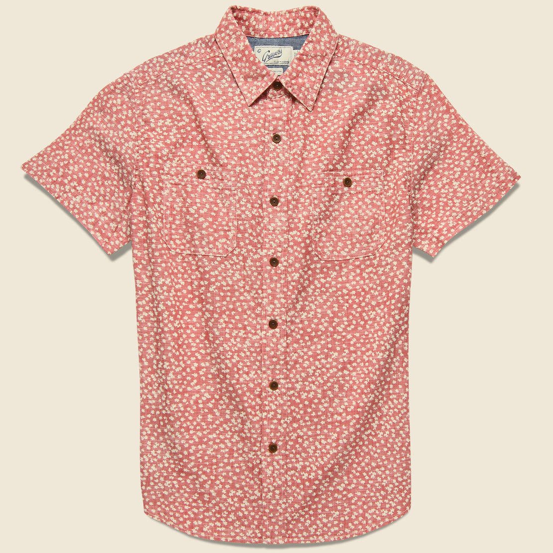 Grayers Drayton Shirt - Cranberry