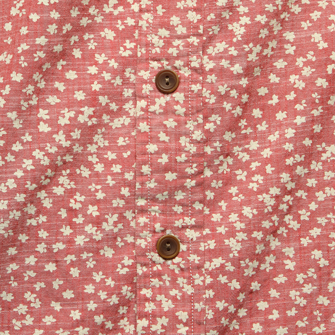 Drayton Shirt - Cranberry