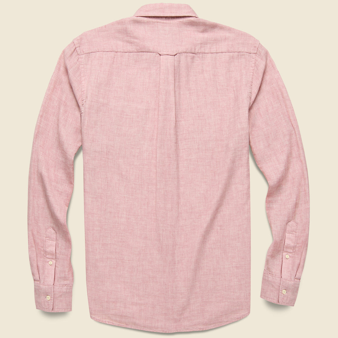 Rosedale Double Cloth Shirt - Dusty Rose
