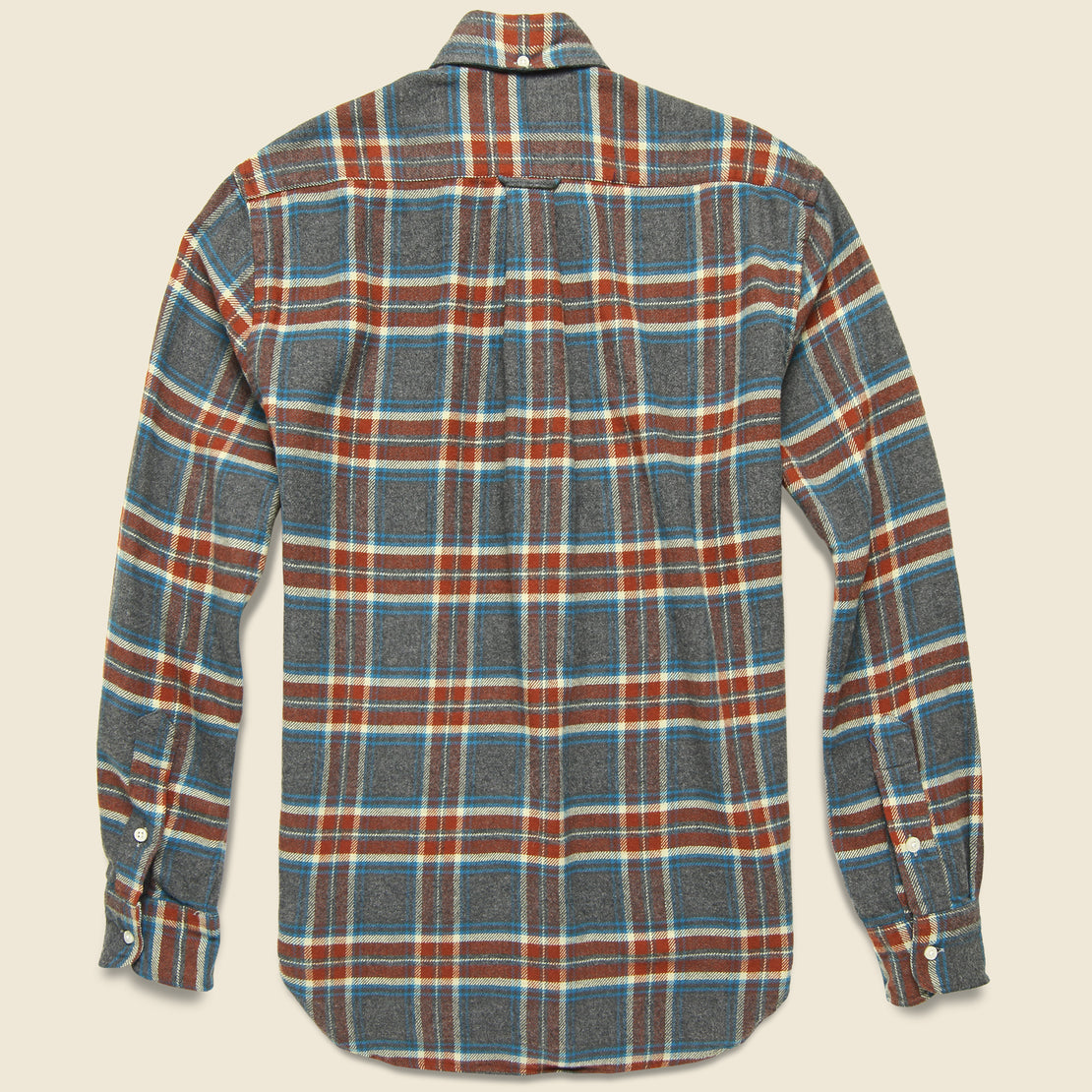 Soft Flannel - Red/Blue
