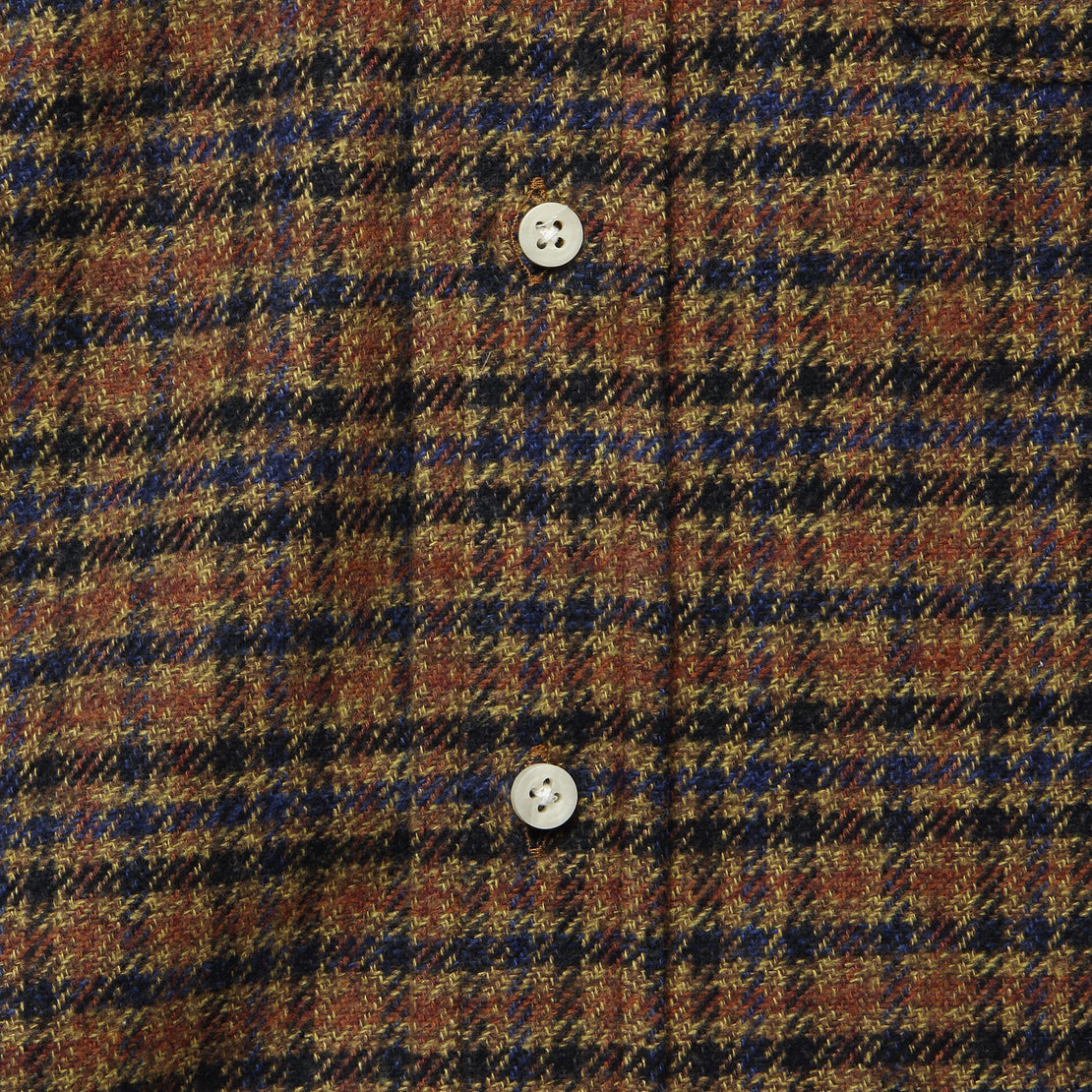 Cotton Tweed Flannel - Brown