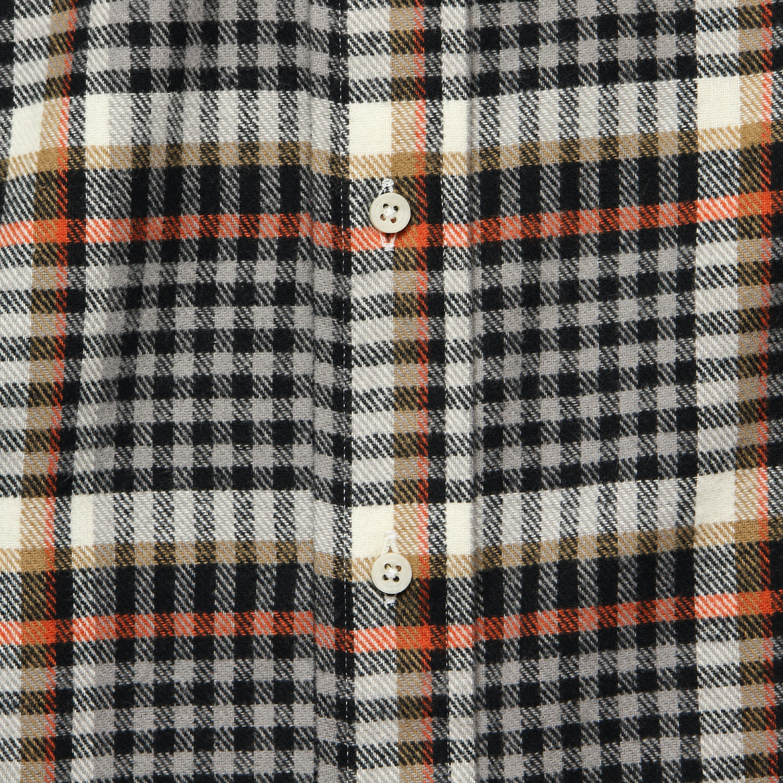 Country Plaid Flannel - Grey