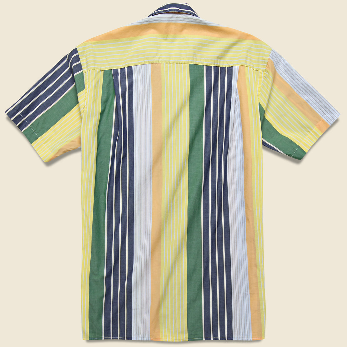 Awning Stripe Camp Shirt - Multi