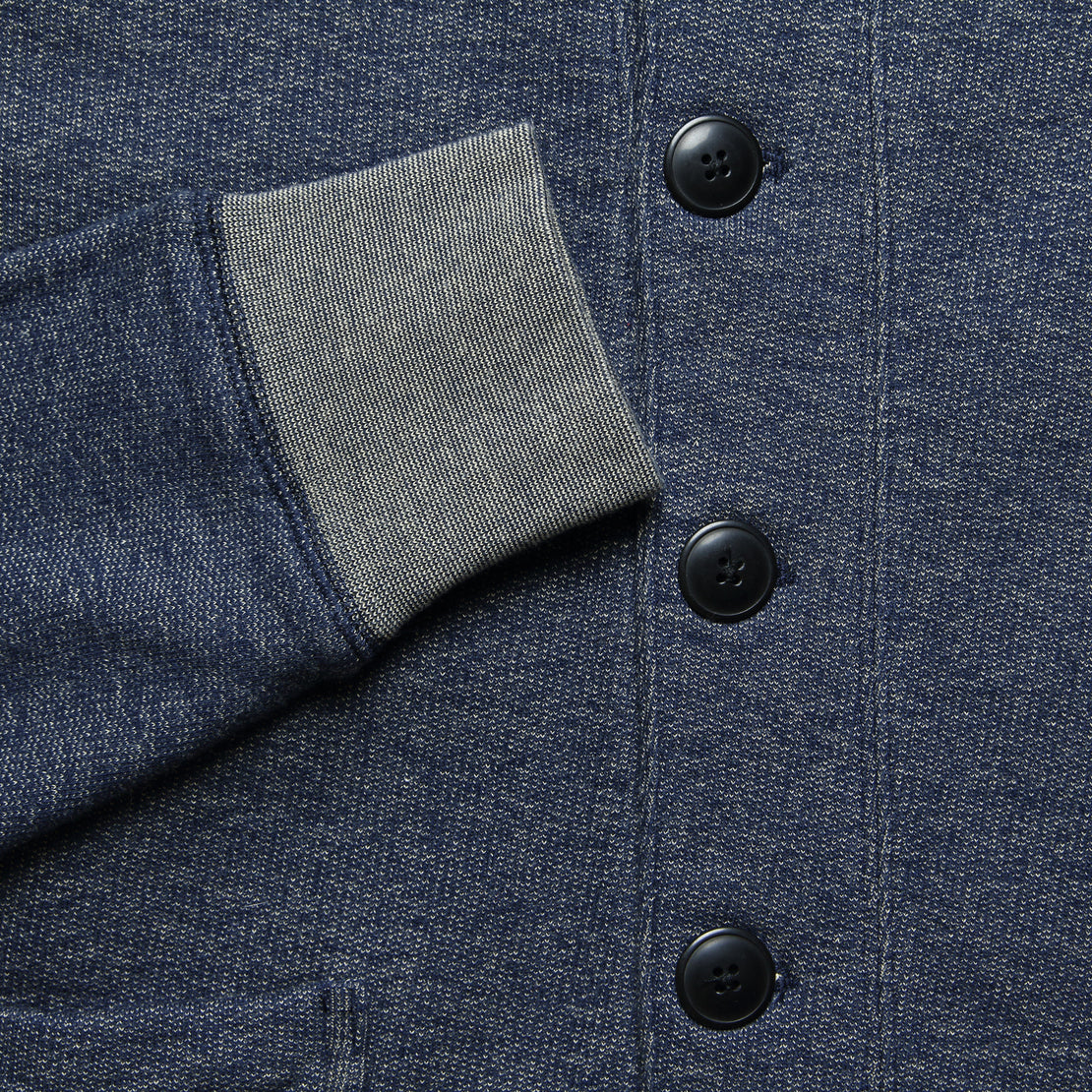 Birch Shawl Cardigan - Denim Blue - Grayers - STAG Provisions - Tops - Sweater