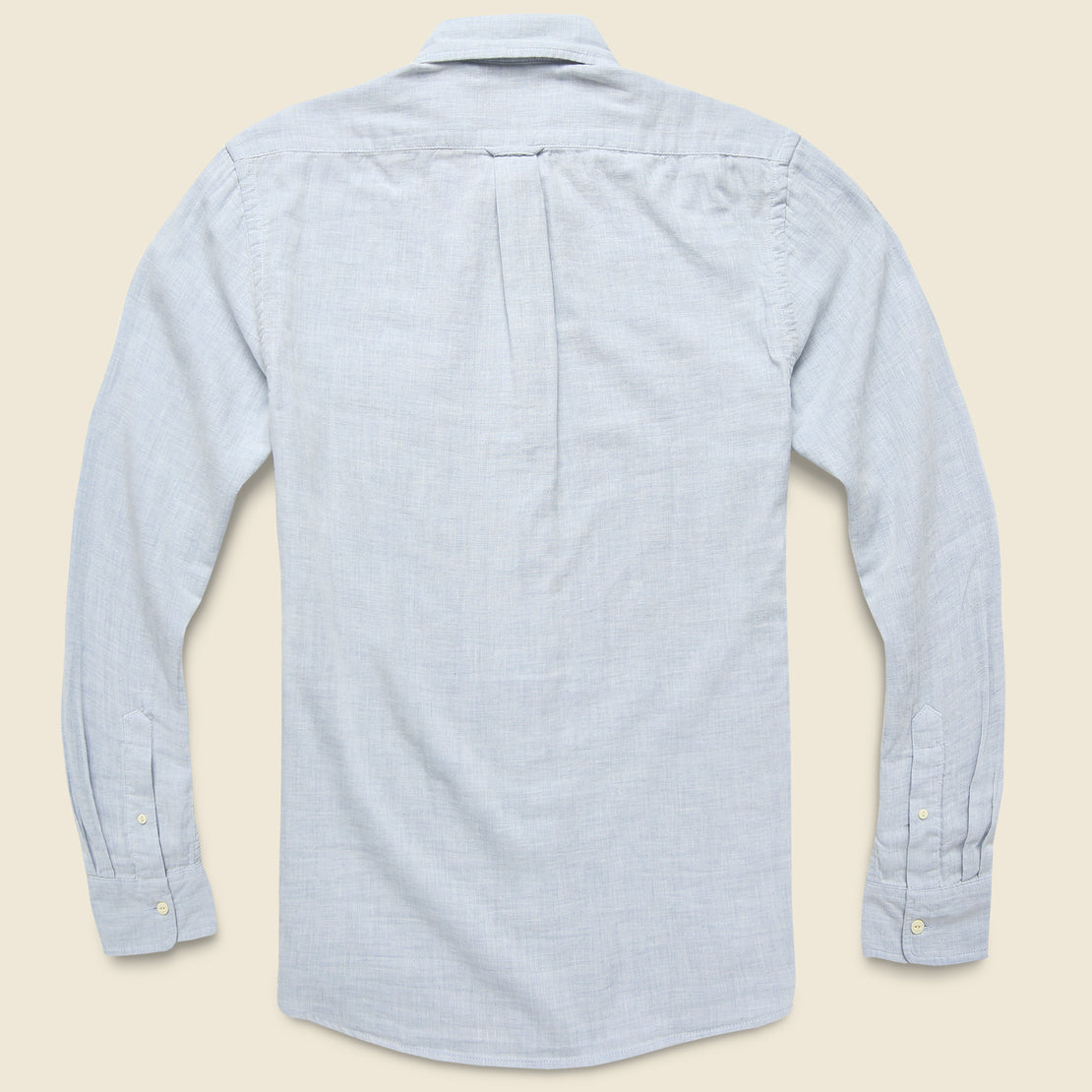 Hammond Double Cloth Shirt - Blue Heather