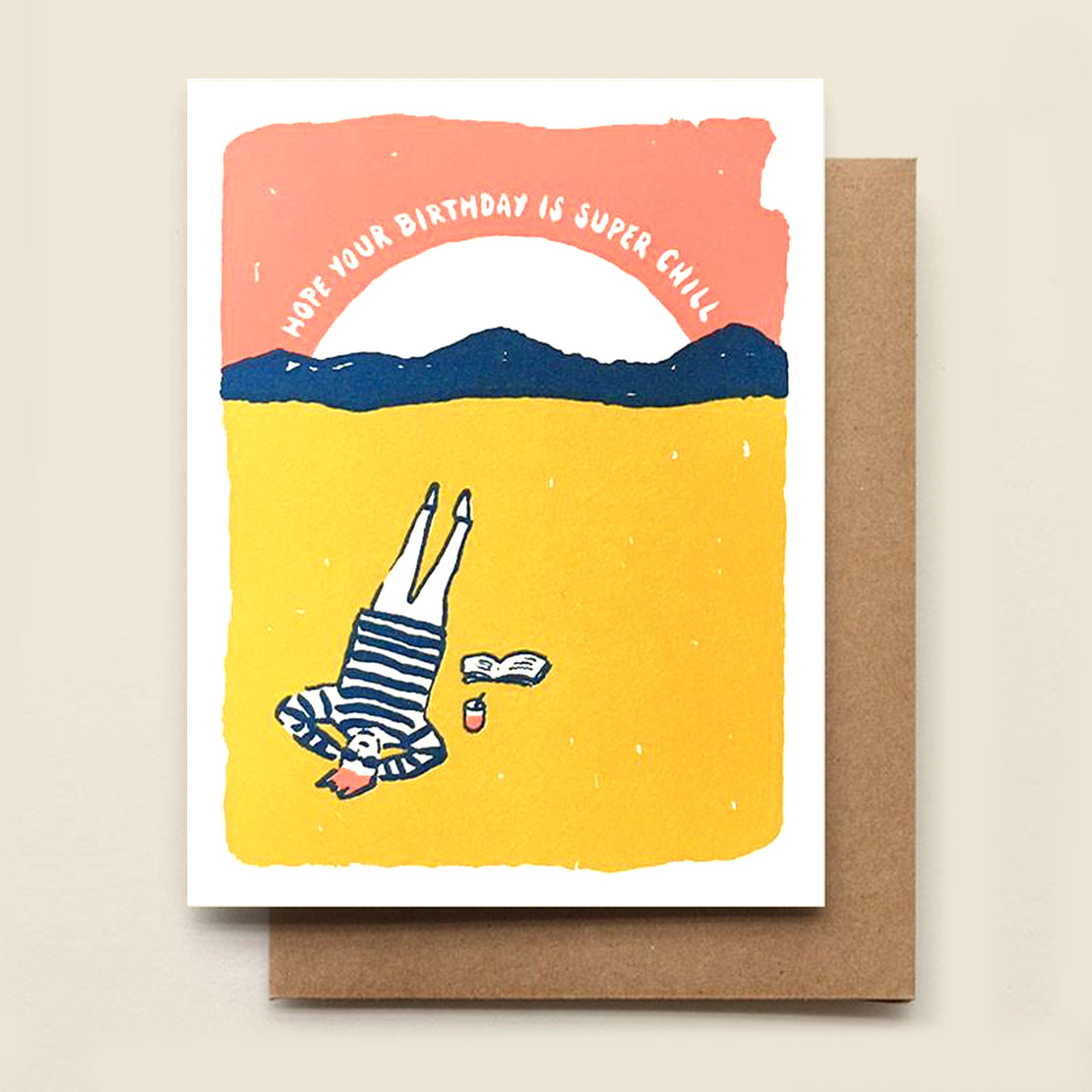 Paper Goods Birthday Card - Super Chill