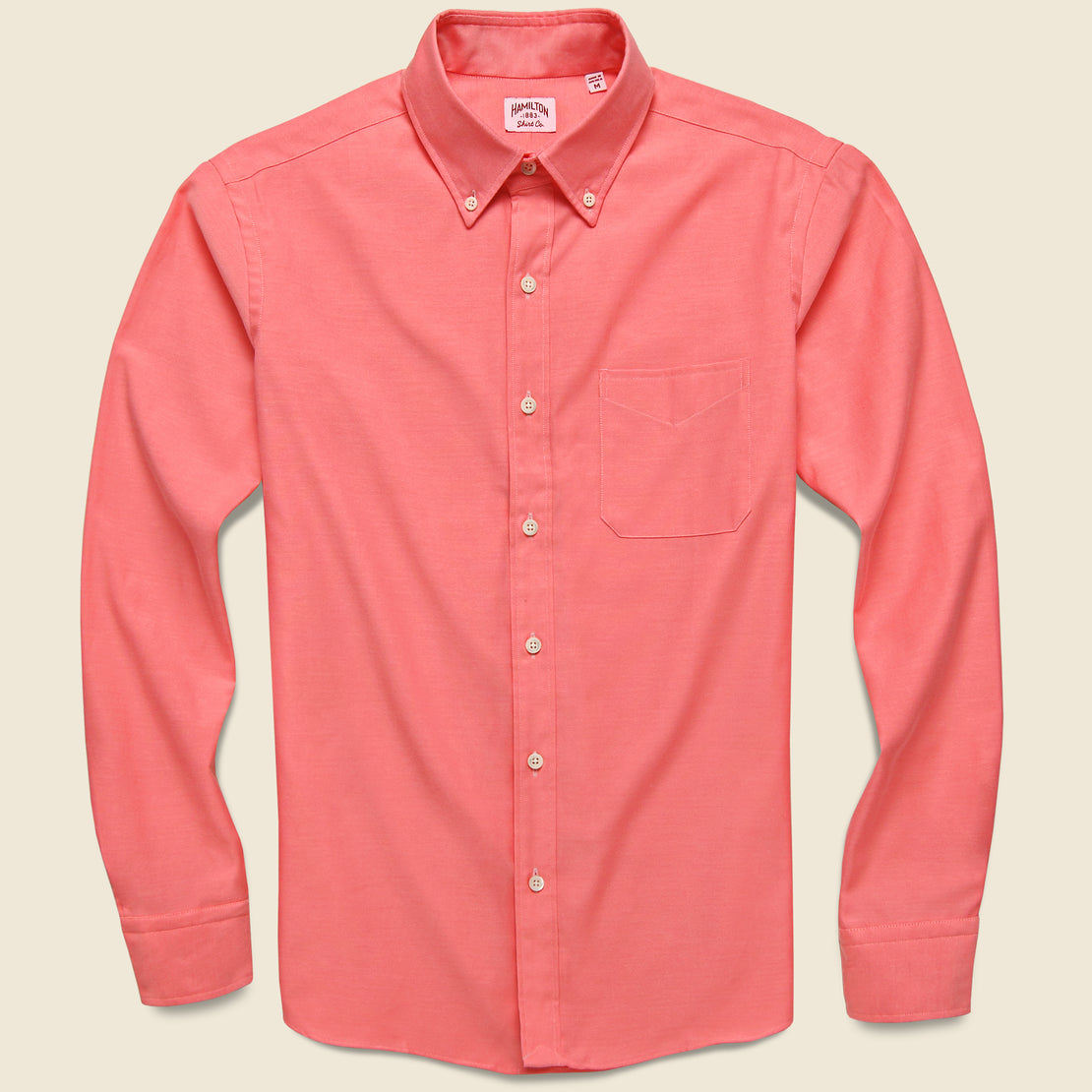 Hamilton Shirt Co. Neon Oxford Shirt - Pink