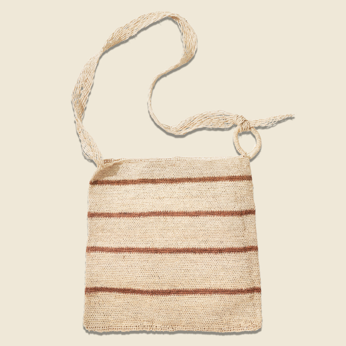 House of LAND Maguey Bag - Woven Stripe