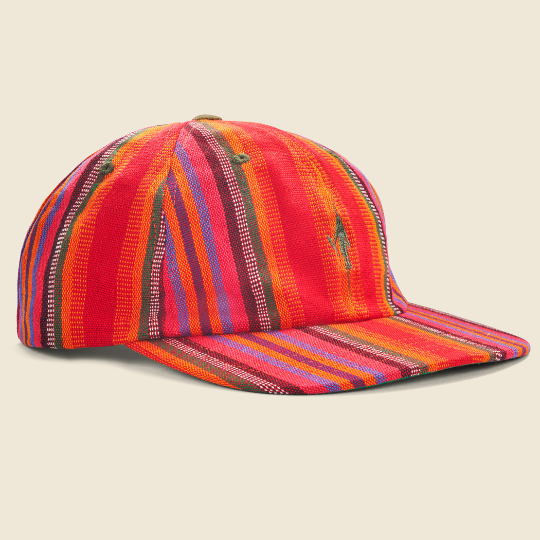 House of LAND Classic Woven Icon Cap - Stripe