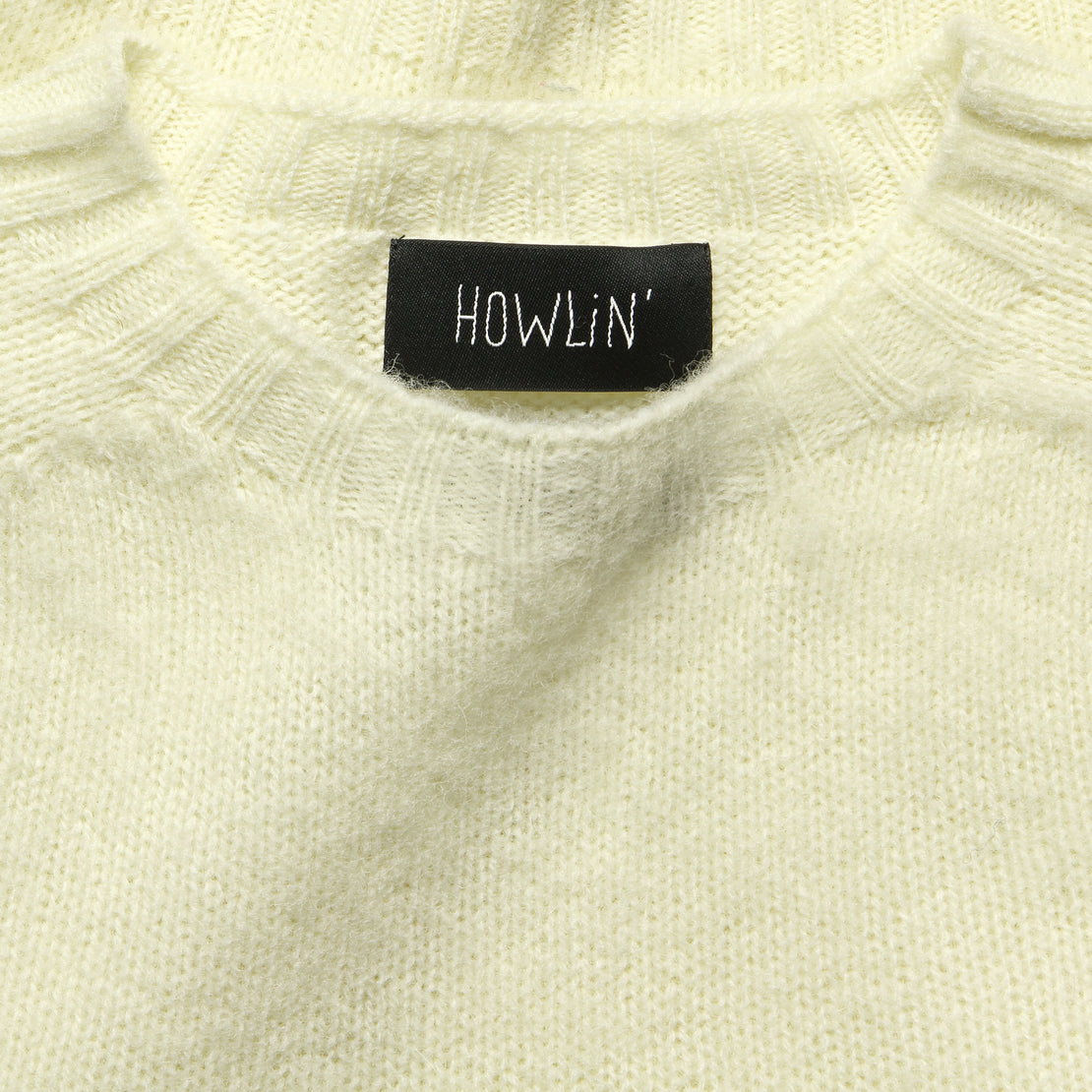 Babs Sweater - White