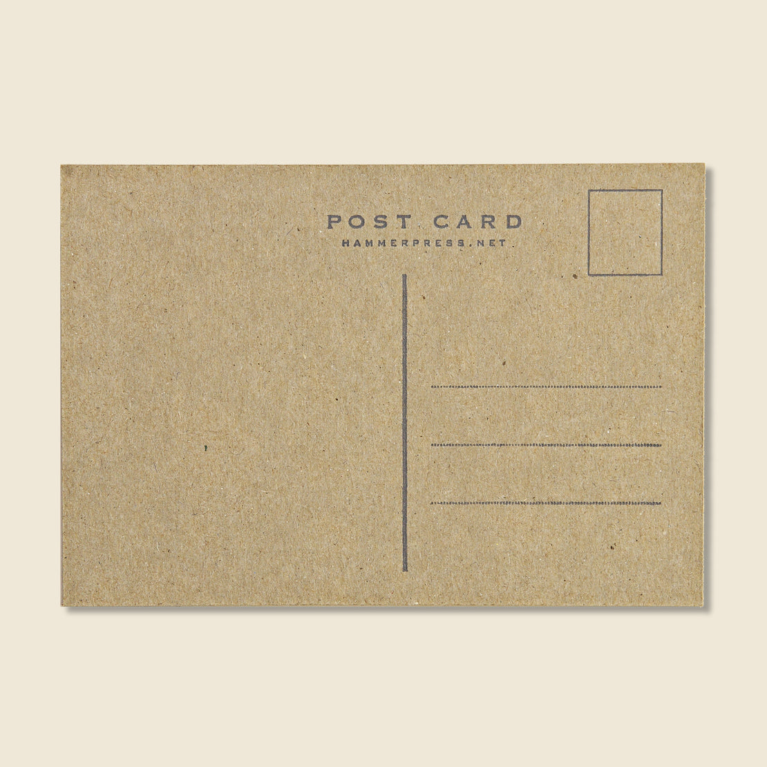 Stay True Postcard - Hammerpress - STAG Provisions - Gift - Stationery