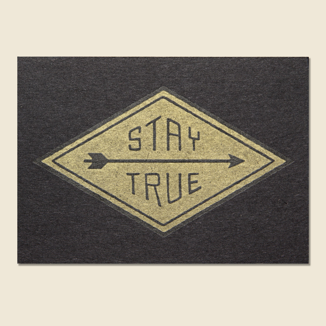 Hammerpress Stay True Postcard