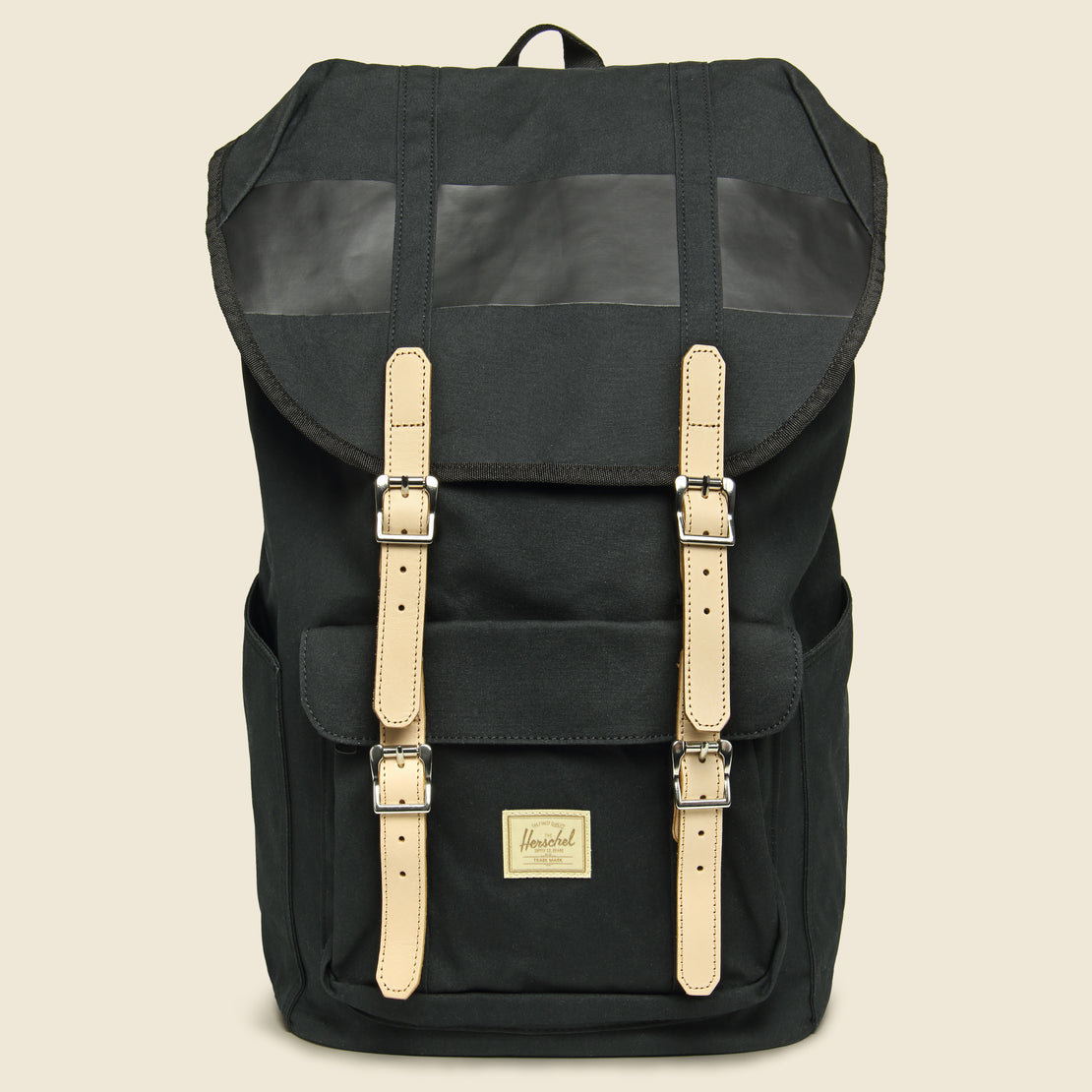 Herschel Supply Co Lil American Premium Cotton Backpack - Black