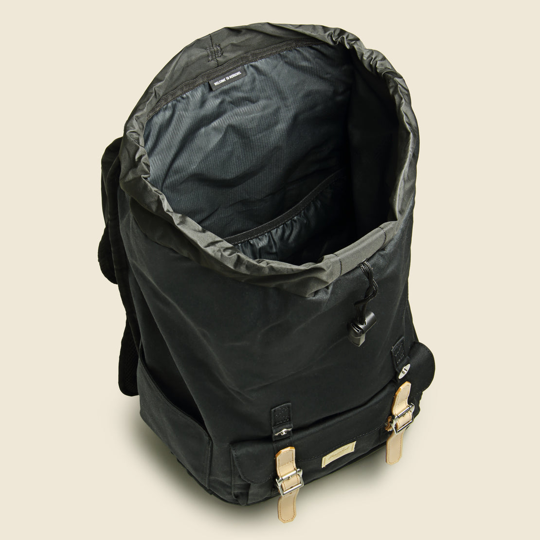 Lil American Premium Cotton Backpack - Black