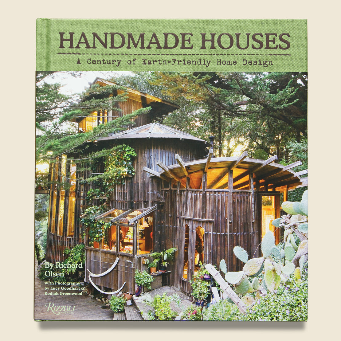 Bookstore Handmade Houses: A Century of Earth-Friendly Home Design - Richard Olsen