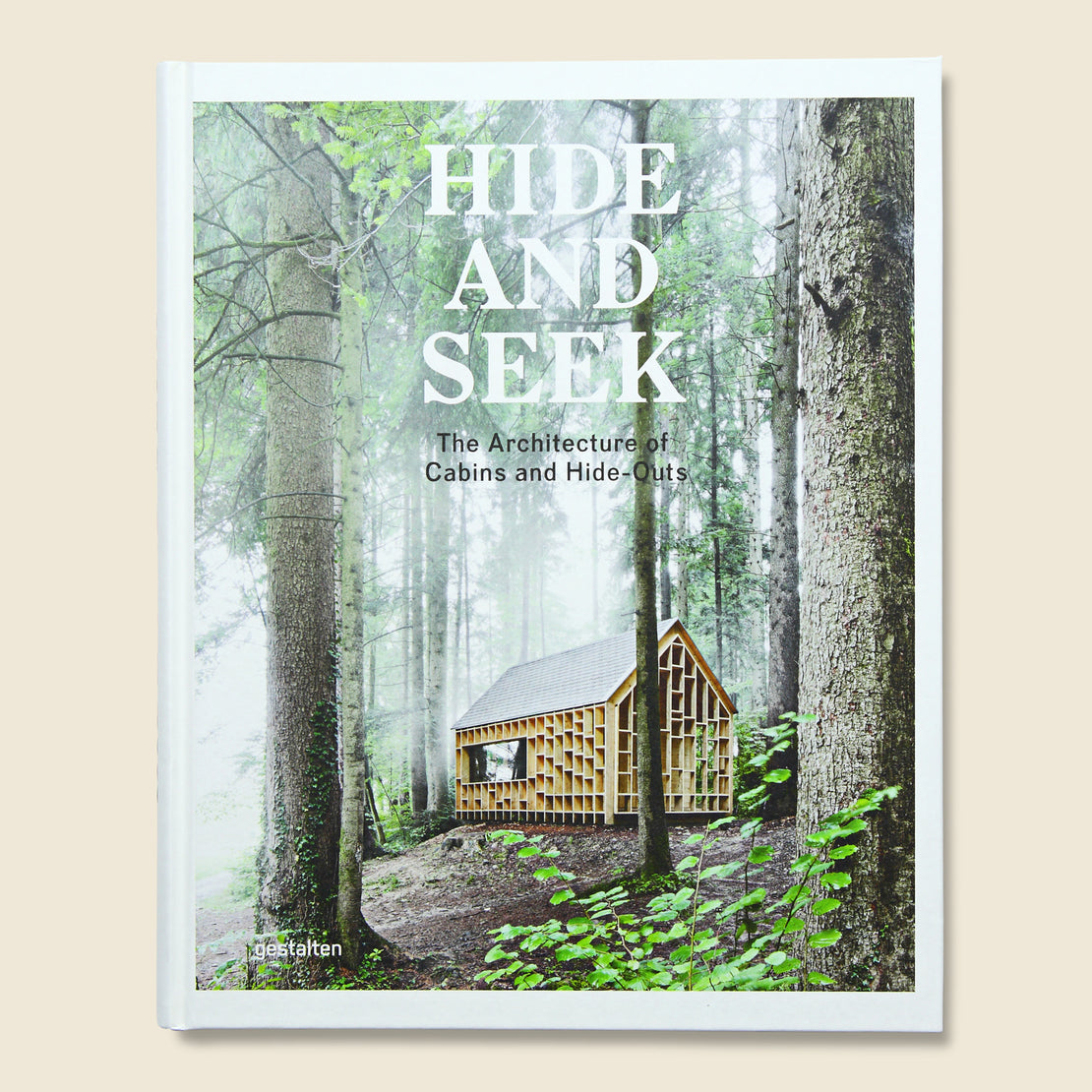 Bookstore Hide and Seek: The Architecture of Cabins and Hideouts -  Sofia Borges