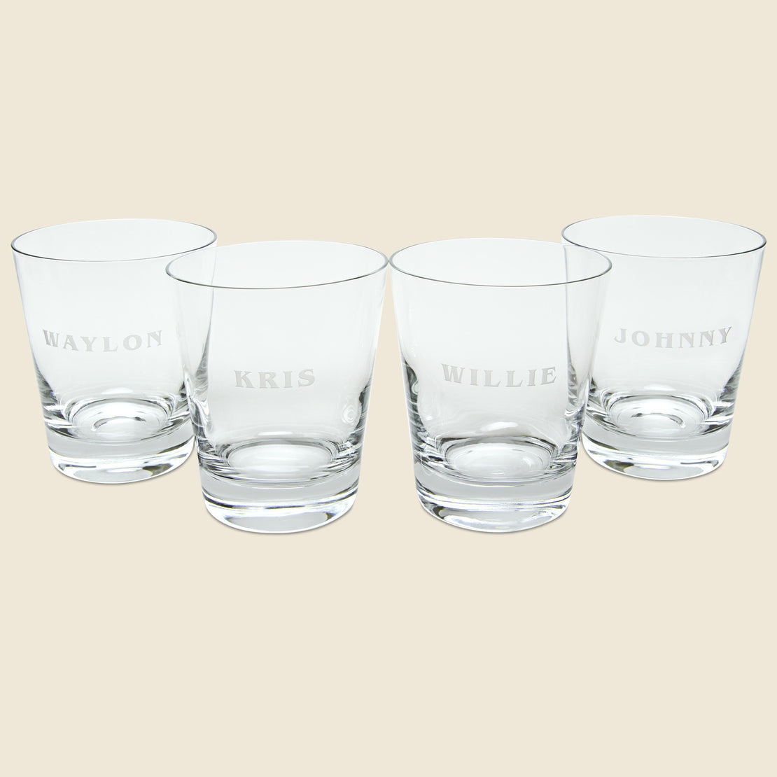 Barware Tumbler Set - The Highwaymen