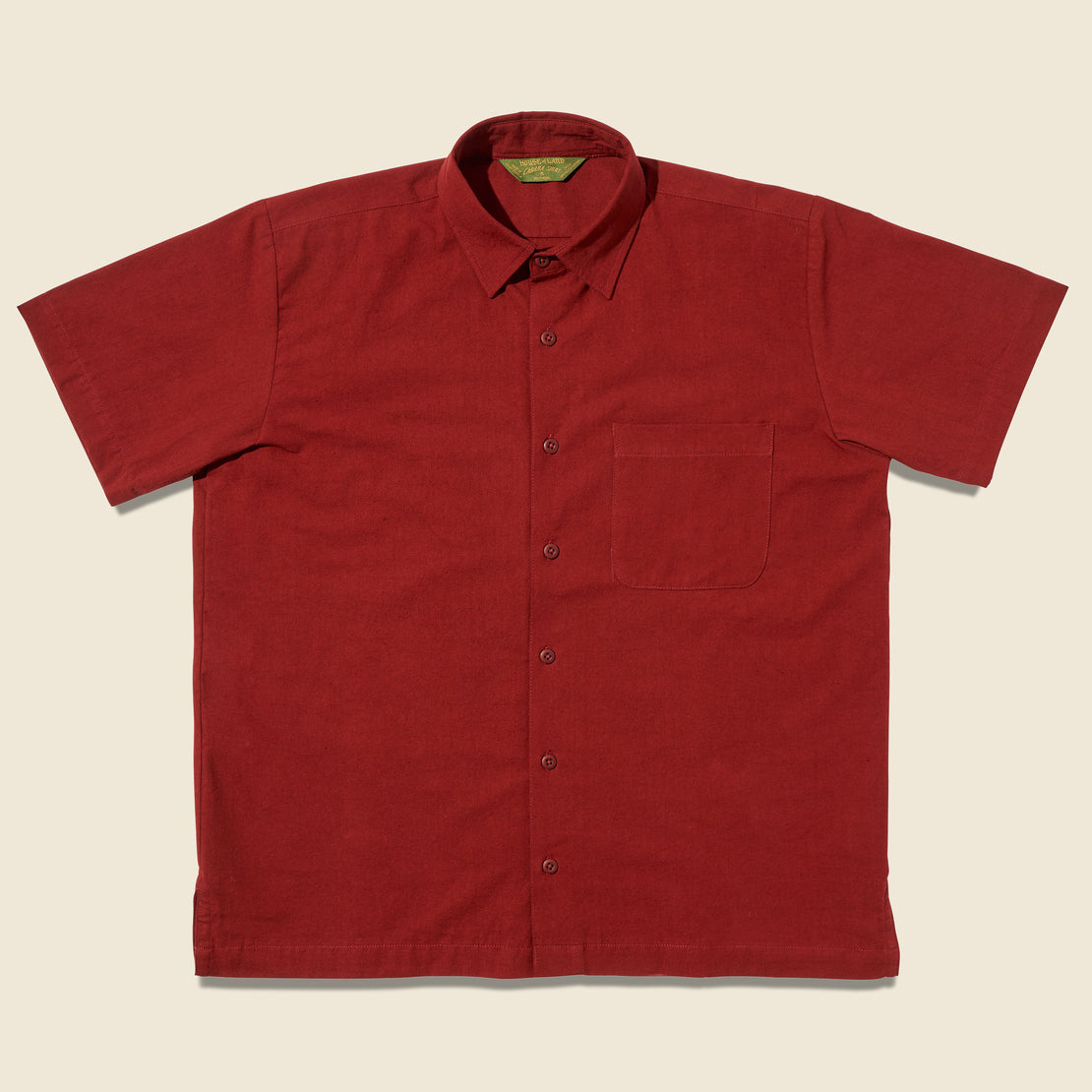 House of LAND Cabana Shirt - Rojo