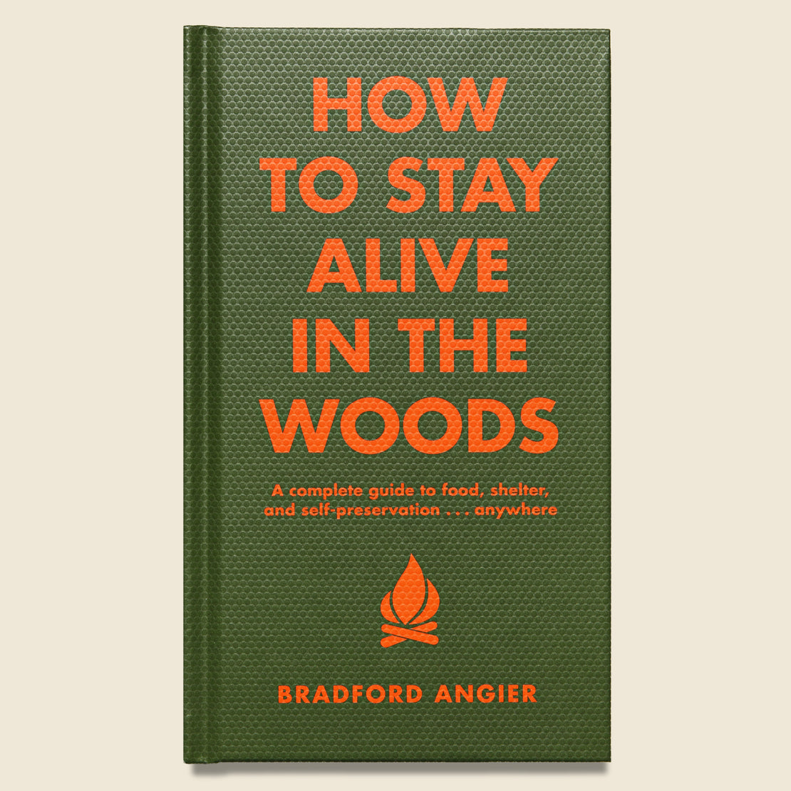 Bookstore How to Stay Alive in the Woods - Bradford Angier