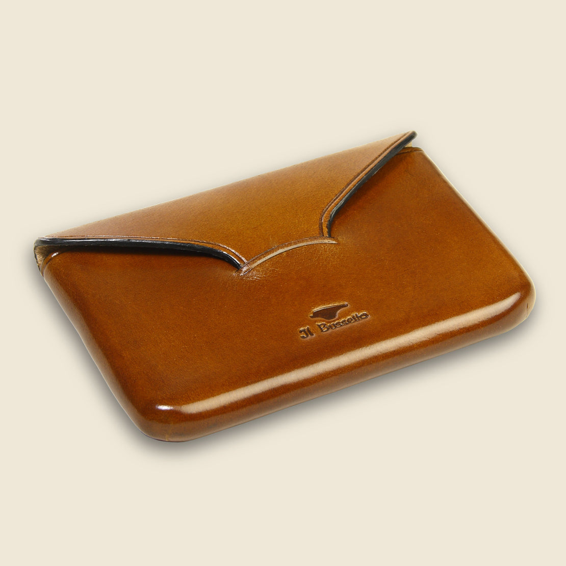 Business Card Holder - Light Brown - Il Bussetto - STAG Provisions - Accessories - Wallets