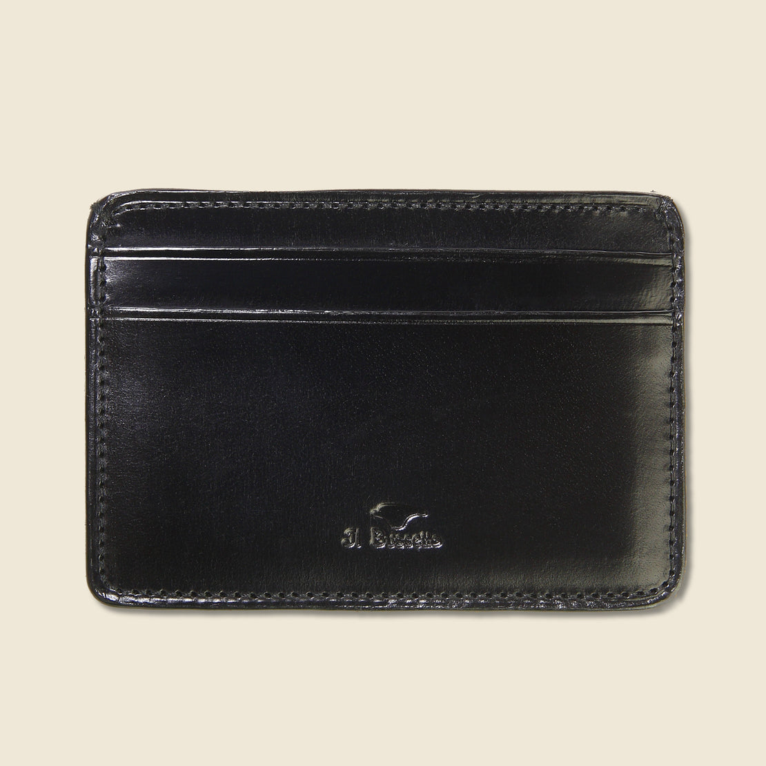 Il Bussetto Credit Card Case - Black