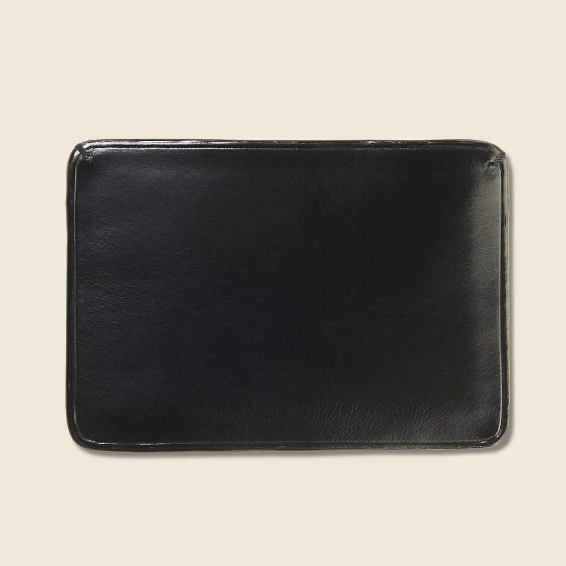Credit Card Case - Black - Il Bussetto - STAG Provisions - Accessories - Wallets
