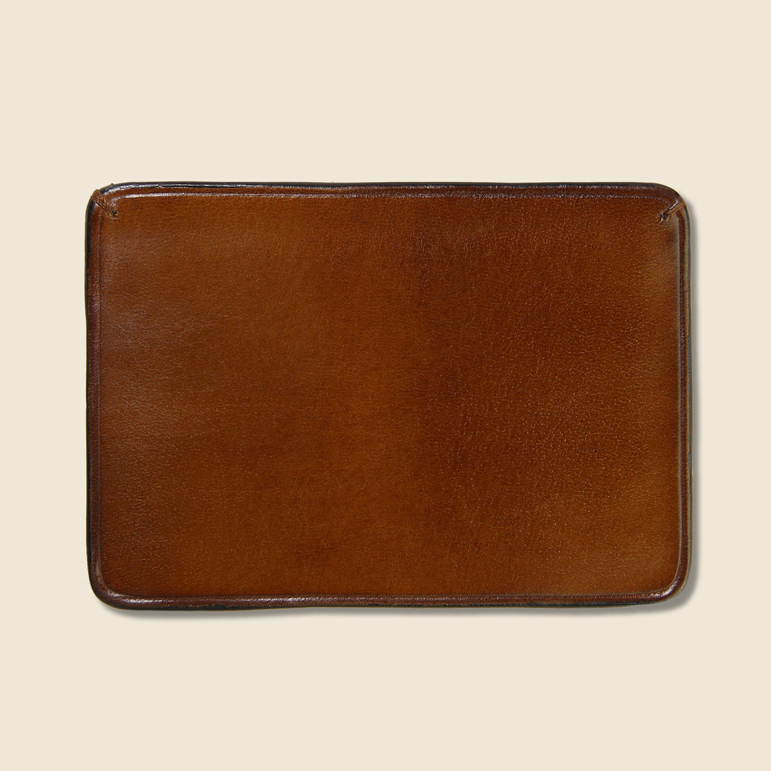 Credit Card Case - Dark Brown - Il Bussetto - STAG Provisions - Accessories - Wallets